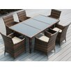 Ohana Depot 7 Piece Dining Set with Cushions