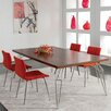 """Saloom Furniture Peter Francis 74"""" Extendable Dining Table"""