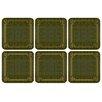 Pimpernel Shagreen Leather Coaster (Set of 6)