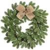 Dalmarko Designs Pine and Burlap Bow Wreath
