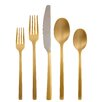 Cambridge SIlversmith Beacon Gold Mirror 20-Piece Flatware Set