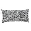 Lorena Gaxiola Agua Lucky Eight Cotton Lumbar Pillow