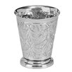 Floral Orchid Pot Planter - Size: 5.1 inch High x 1.35 inch Wide x 4.35 inch Deep - Hawkins Planters