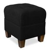 Tory Furniture Mondo Upholstered Square 4-Button Ottoman