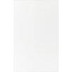 British Ceramic Tile Whites & Reflections 39.8cm x 24.8cm Ceramic Field Tile in White