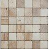 British Ceramic Tile Buxton 30.2cm x 30.2cm Natural stone Mosaic Tile in Beige