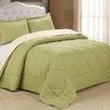 Cathay Home, Inc Peach Skin Ensemble Comforter Set
