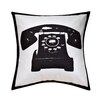 Cathay Home, Inc Swift Home Fun Telephone Decorative Throw Pillow