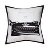 Cathay Home, Inc Swift Home Fun Typewriter Decorative Throw Pillow