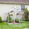 Palram Snap and Grow 6 Ft. W x 8 Ft. D Polycarbonate Greenhouse