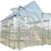 Palram Snap and Grow 8 Ft. W x 8 Ft. D Polycarbonate Greenhouse