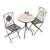 Parcel in the Attic Casablanca 2 Seater Bistro Set