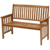 Parcel in the Attic Camila 3 Seater Wood Bench