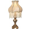 "River of Goods Downton Abbey 15.75"" H Fringe Accent Table Lamp with Bell Shade"