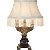 "River of Goods Downton Abbey 12.5"" H Fringe Accent Table Lamp with Empire Shade"