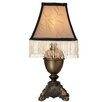 """River of Goods Downton Abbey 13.5"""" H Accent Table Lamp with Bell Shade"""
