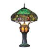 """River of Goods Hampstead Tiffany Style Stained Glass 34"""" H Table Lamp"""