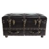 River of Goods Faux Leather Trunk