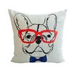 Loom and Mill French Bulldog Decorative Throw Pillow