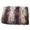 Posh365 Luxury Striped Mink Faux Fur Polyester Throw Blanket