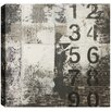 Hobbitholeco. Vertical Numbers' by Christina Lovisa Wall Art on Wrapped Canvas