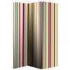 Arthouse 150cm x 120cm Bright Stripe Screen 3 Panel Room Divider