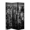 Arthouse 150cm x 120cm New York 3 Panel Room Divider
