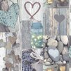 Arthouse Rustic Heart 10.05m L x 53cm W Roll Wallpaper