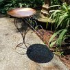 Handmade Stand and Torch with Frame and Intended Birdbath - Starlite Bird Baths