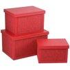 My Maison 3-tlg. Aufbewahrungsboxen-Set
