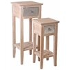 My Maison Provincial 2 Piece Side Table Set