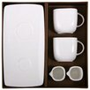 My Maison Macchiatto 5 Piece Porcelain Dinnerware Set