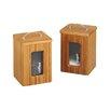 Zeller Present Küchendose aus Bambus mit Sichtfenster