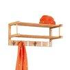 Zeller Wall-Mounted Clothes Rack