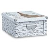 Zeller Paris Storage Box