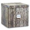 Zeller Wood Storage Bin