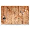 Zeller 40cm x 60cm Wood Rectangular Memoboard