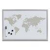 Zeller Present Magnet-/ Schreibtafel World
