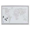 Zeller World Letters Memo Board