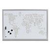Zeller Present Magnet-/ Schreibtafel World Letters