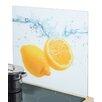 Zeller Present Herdblende-/ Abdeckplatte Lemon Splash