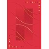 Milliken Pastiche Caliente Rouge Red Area Rug