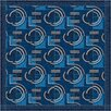 Milliken Pastiche Modernes Phantom Blue Area Rug