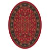 Milliken Pastiche Abadan Currant Red Oval Rug