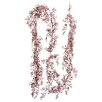 Silk Flower Depot Glittered Mini Button Leaf Garland
