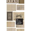 NLXL Biblioteca Wallpaper for use with EKA 01-04 6.6m L x 48.7cm W Distressed Roll Wallpaper