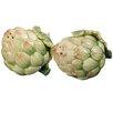 Kaldun & Bogle Giardino Botticelli Artichoke Salt and Pepper Set