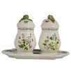Kaldun & Bogle Herb de Provence 3 Piece Salt and Pepper Shaker with Tray (Set of 2)