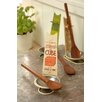 Black Country Metal Works Bouillon Cube 2 Piece Spoon Rest and Wooden Spoon Set