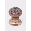Black Country Metal Works Thoresbury Avenu Decorative Flower Door Knob (Set of 2)